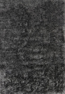 Eva Silky Plush Grey Shaggy Rug