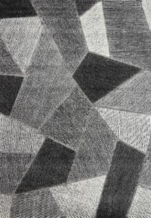 Cambridge Grey Pixel Rug