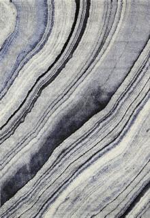 Cambridge Swirl Grey Blue Rug
