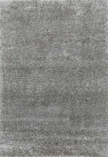 Aegean Light Grey Plush Shaggy Rug