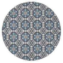 Indie Maci Blue 150cm Round Rug