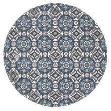 Indie Maci Blue 200cm Round Rug