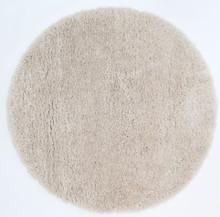 Kati Shaggy Cream 120cm Round