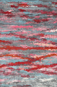 Allure Silk 4030 Red Modern Rug