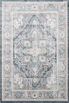 Allure Silk Grey Washed Rug