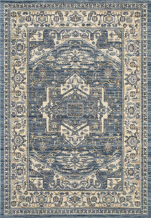 Alfred Traditional Blue Rug