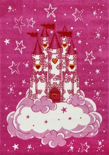 Barca Pink Castle Rug