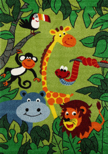 Barca Kids Jungle Rug