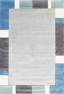 Kimba Blue Border Rug