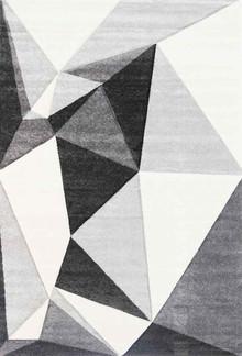 Kimba Grey Pixel Rug