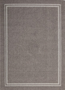 Honolulu Dark Grey Outdoor Rug