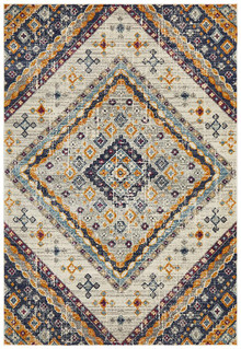 Baltimore Mosaic Rust Rug