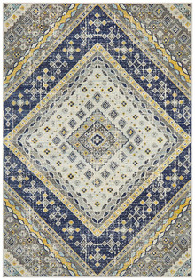 Baltimore Mosaic Navy Rug