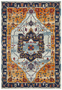Baltimore Rust Persian Rug