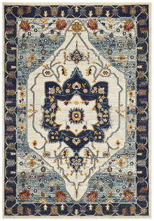 Baltimore Blue Persian Rug