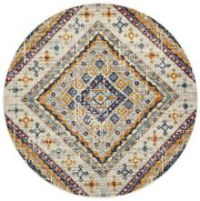 Baltimore Mosaic Rust 200cm Round