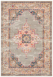 Baltimore Grey Decor Rug