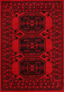 Afghan Tribe Red Rug