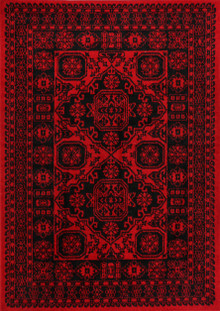 Afghan Classic Red Rug