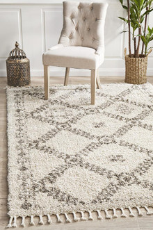Jasper King Natural Shag Rug