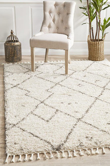 Jasper Tex Natural Shag Rug