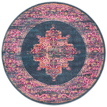 Baltimore Navy Decor 200cm Round