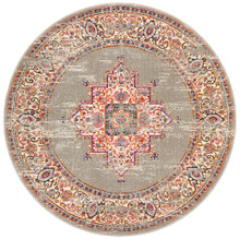 Baltimore Grey Decor 150cm Round