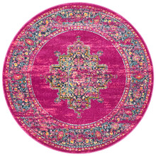 Baltimore Fuchsia Decor 200cm Round