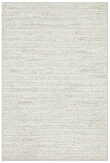 Everest Plush Ivory Wool Rug