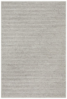 Everest Plush Silver Wool Rug