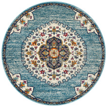 Baltimore Medallion Blue 240cm Round