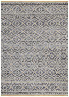 Regi Blue Wool Rug