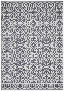 Regi Silver Wool Rug