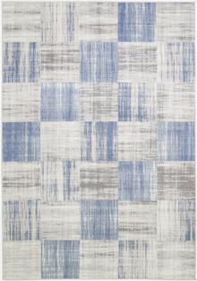 Krest Block Blue Rug