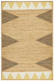 Ashton Yellow Jute Rug