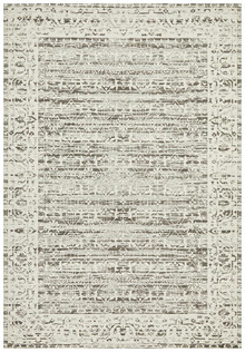 cove washed silver rug