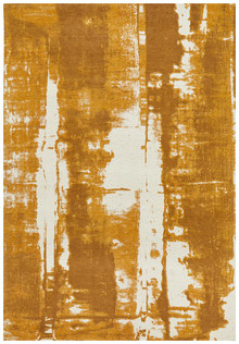 cove art mustard rug