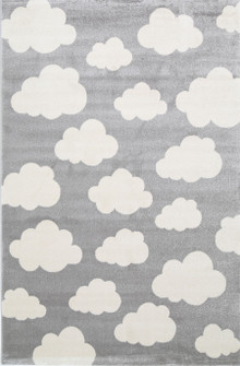 Piccolo Light Grey Cloud Rug