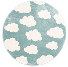 Piccolo Green Cloud 133cm Round Rug