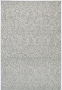 Polar Decor Grey Outdoor Rug