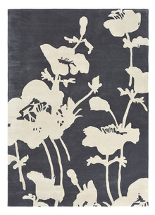 Florence Broadhurst Floral Charcoal