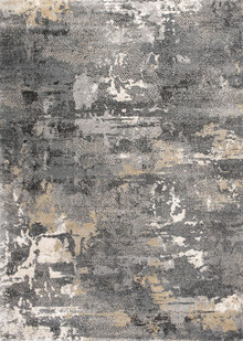Urban Grey Splash Rug