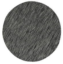 Skandi Black Wool 150cm Round