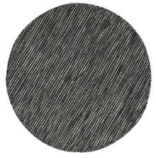 Skandi Black Wool 200cm Round