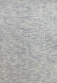 Skandi Blue Wool Designer Rug