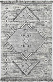 Ava Moroccan Grey Shag Rug