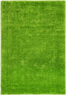 Chloe Soft Green Shaggy Rug