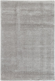 Chloe Soft Grey Shaggy Rug
