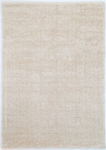 Chloe Soft Cream Shaggy Rug