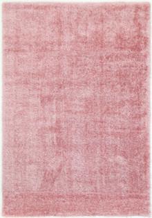Chloe Soft Pink Shaggy Rug